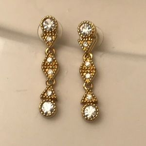 Vintage Swarovski crystal earrings
